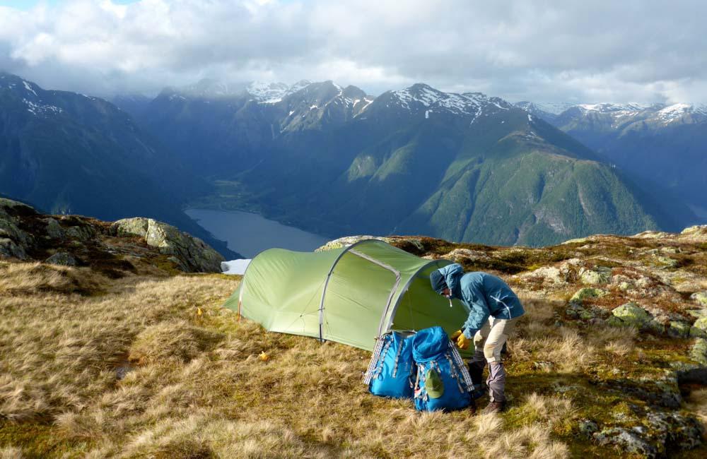 namiot na górską wyprawę