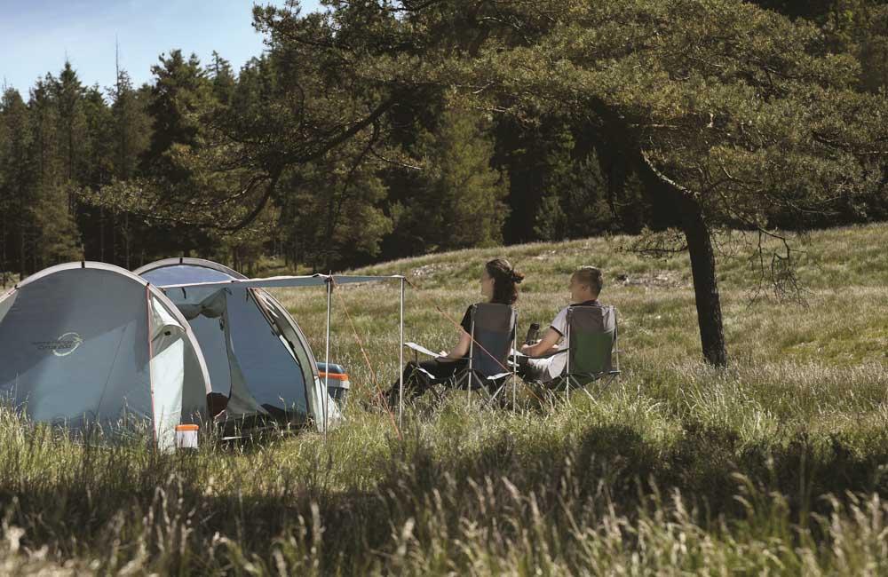 Wygodny namiot turystyczny