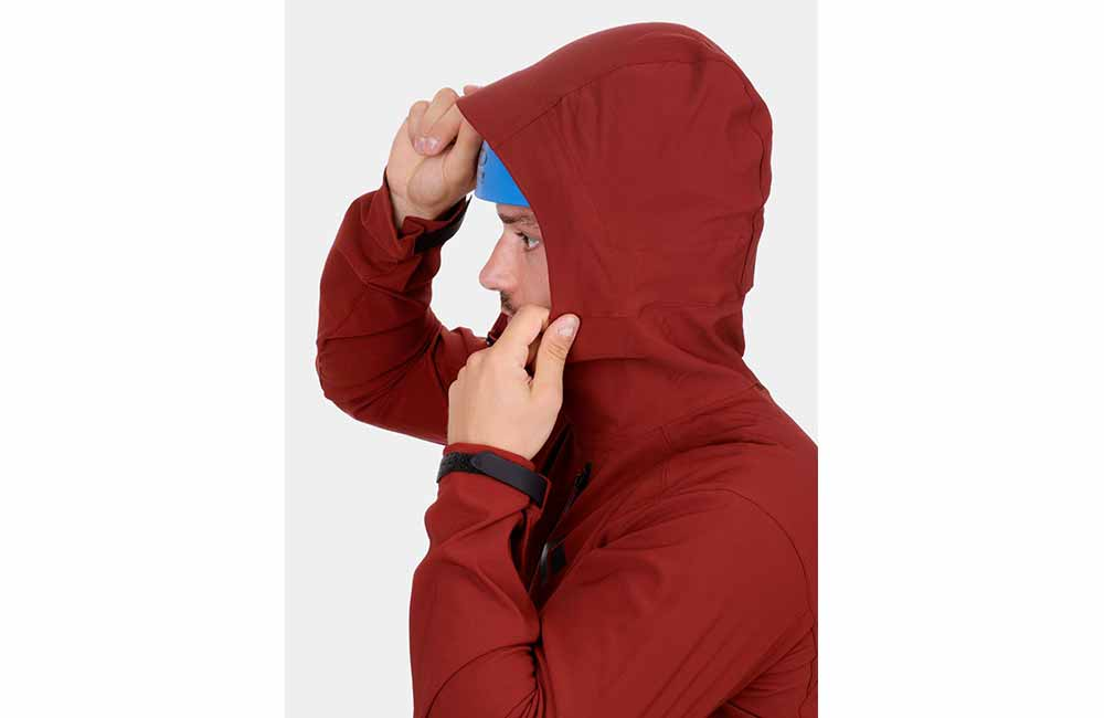 Softshell z kapturem
