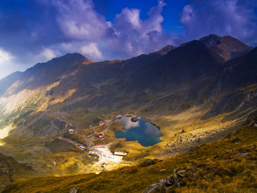 Caban Balea Lac i szosa transfogaraska