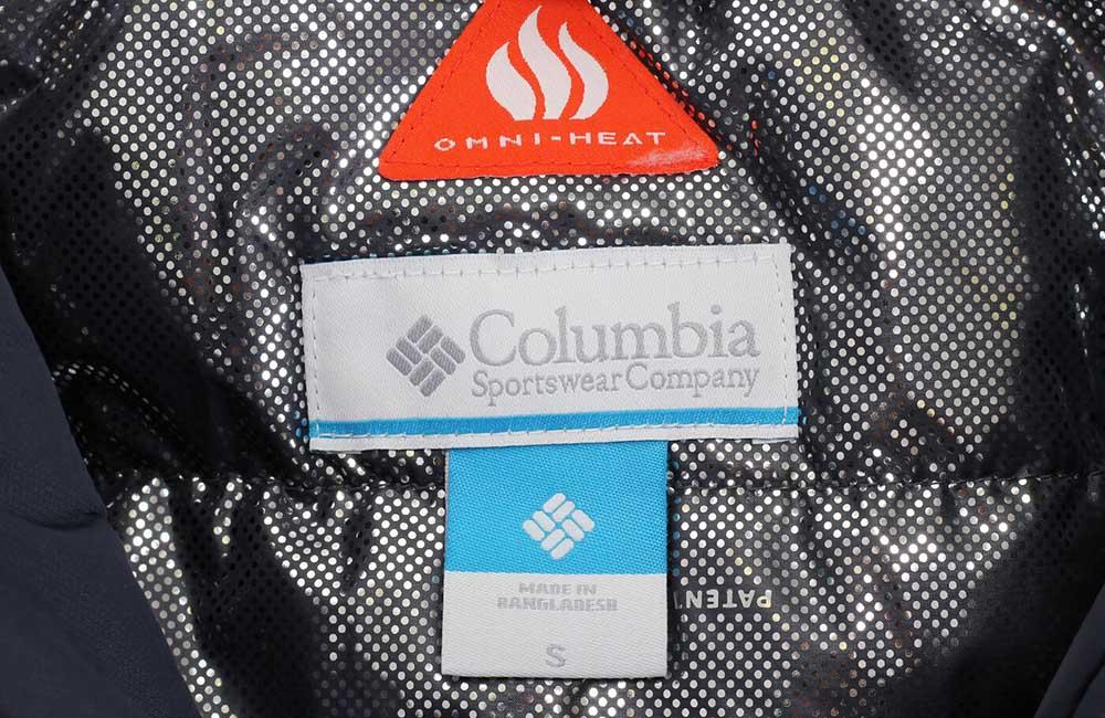 Columbia kropki Omni Heat