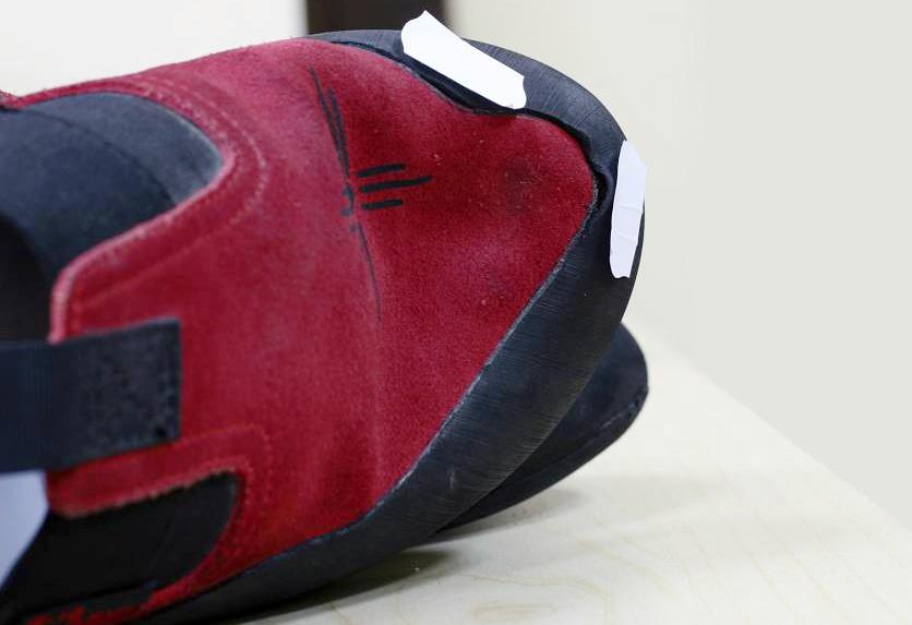 Naprawa butów wspinaczkowych