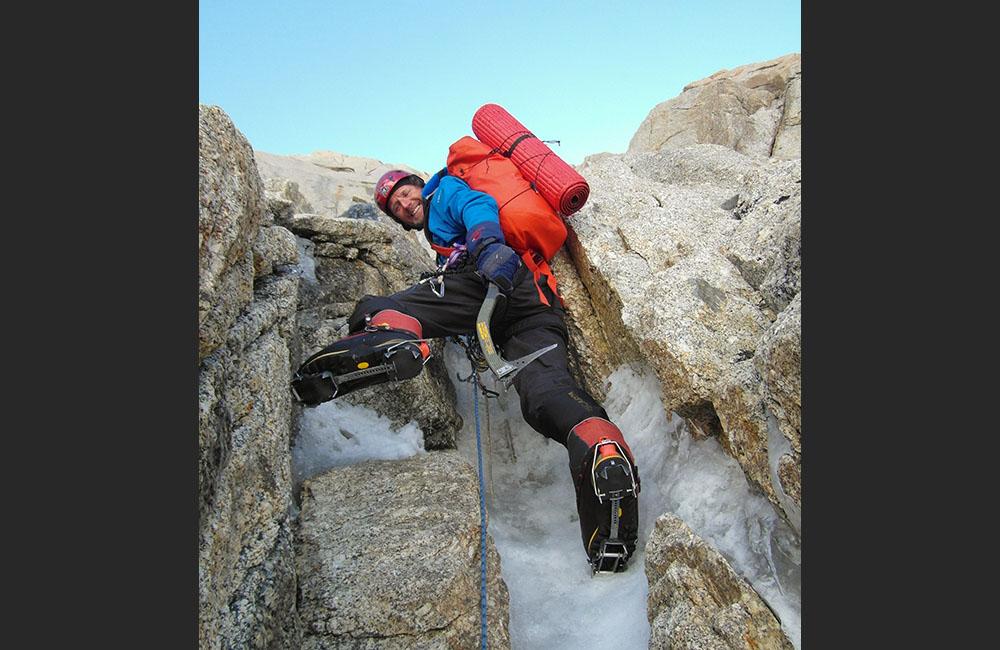 style wspinaczkowe alpejski