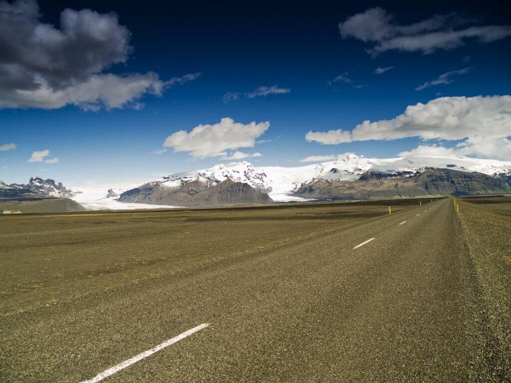 W drodze do Skaftafell