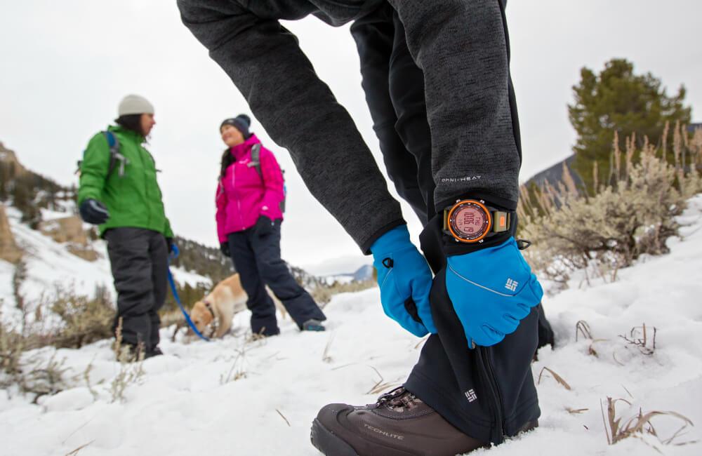 Odpowiednie buty, stuptupy, rękawiczki, bielizna termoaktywna, ciepła wiatroszczelna kurtka- to niezbędnik zimowych wędrówek (fot. Columbia)