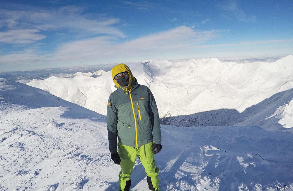 porady jak ubrać się zimą w góry
