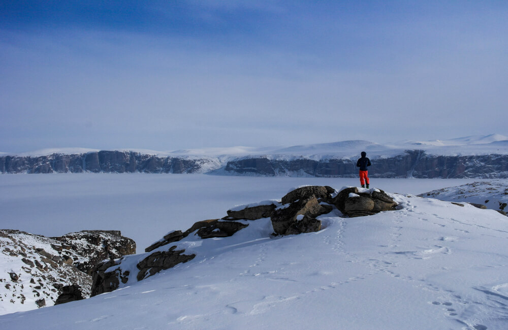 Podczas samotnej wędrówki, zwłaszcza zimą, bezpieczeństwo jest najważniejsze (fot. Berghaus)