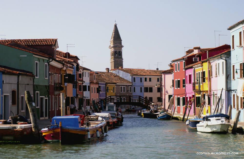 Wyspa Burano w Wenecji (fot. autor)