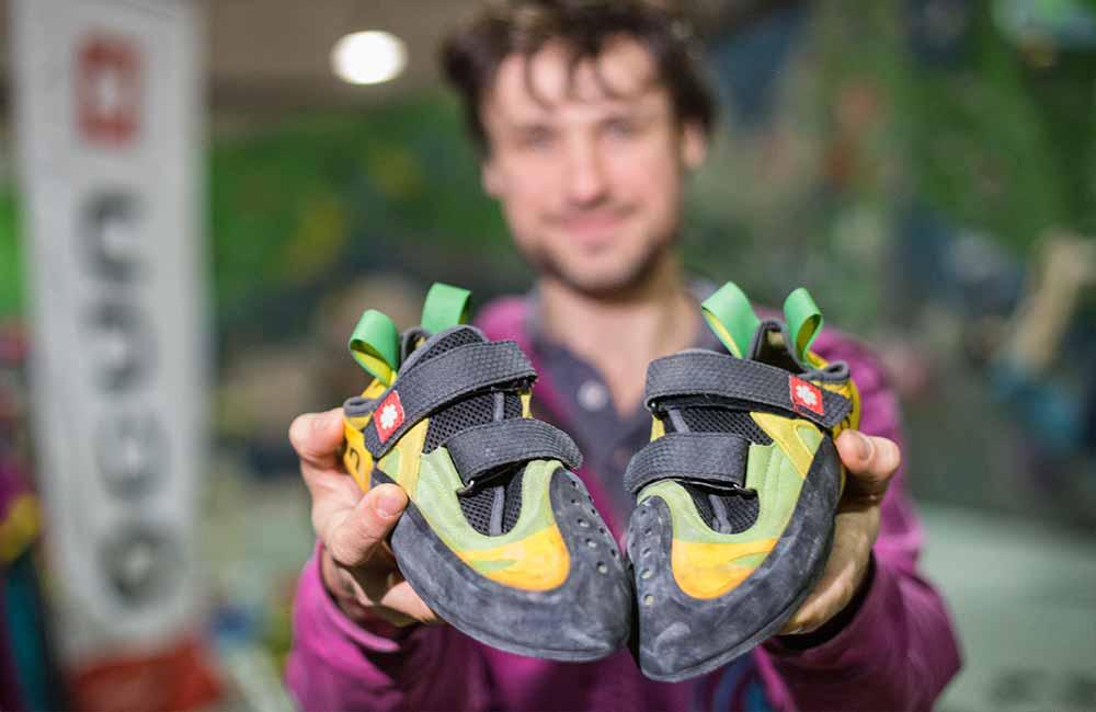Odpowiednio dobrany rozmiar butów wspinaczkowych