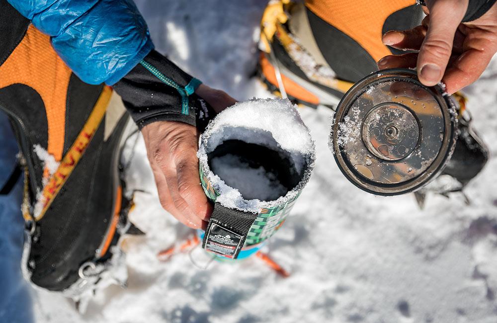 co pić w górach