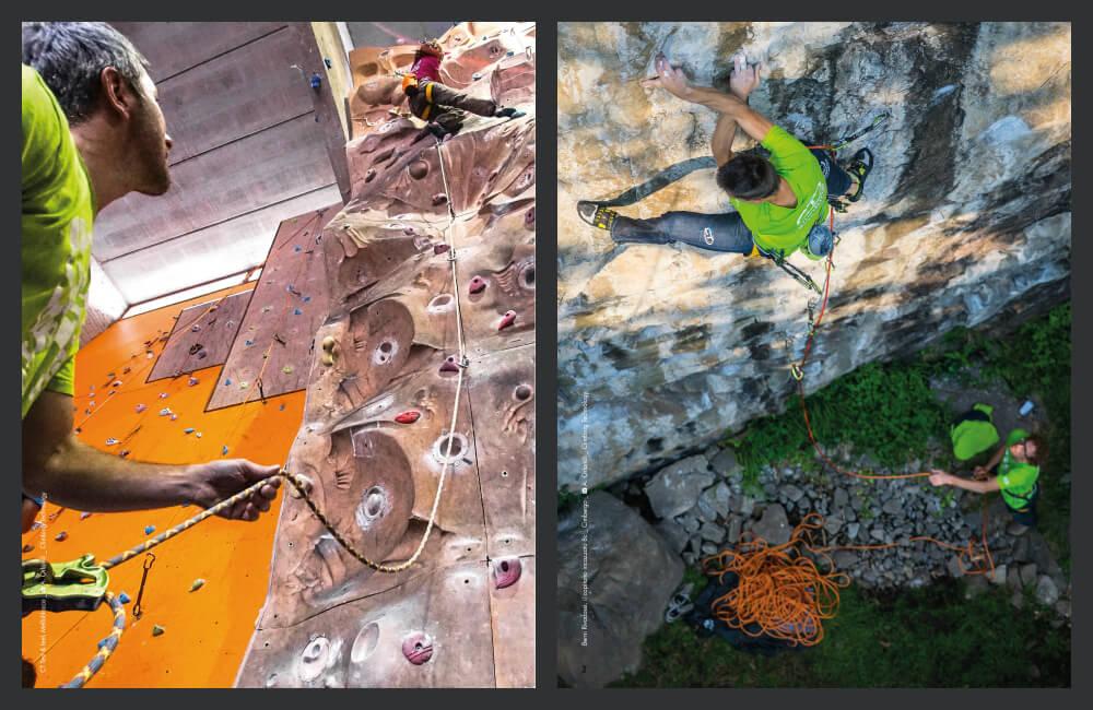 Sztuczna ścianka czy skały- zasady bezpieczeństwa pozostają te same (fot. Climbing Technology)