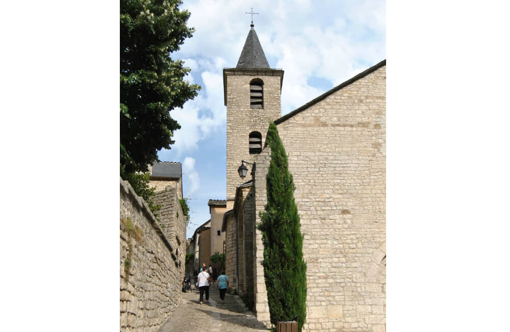 Miasteczko Sainte-Enimie