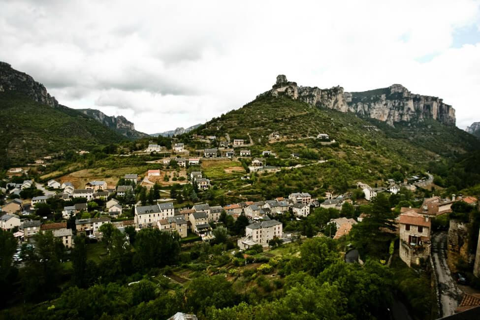 Widok na Gorges du Tarn