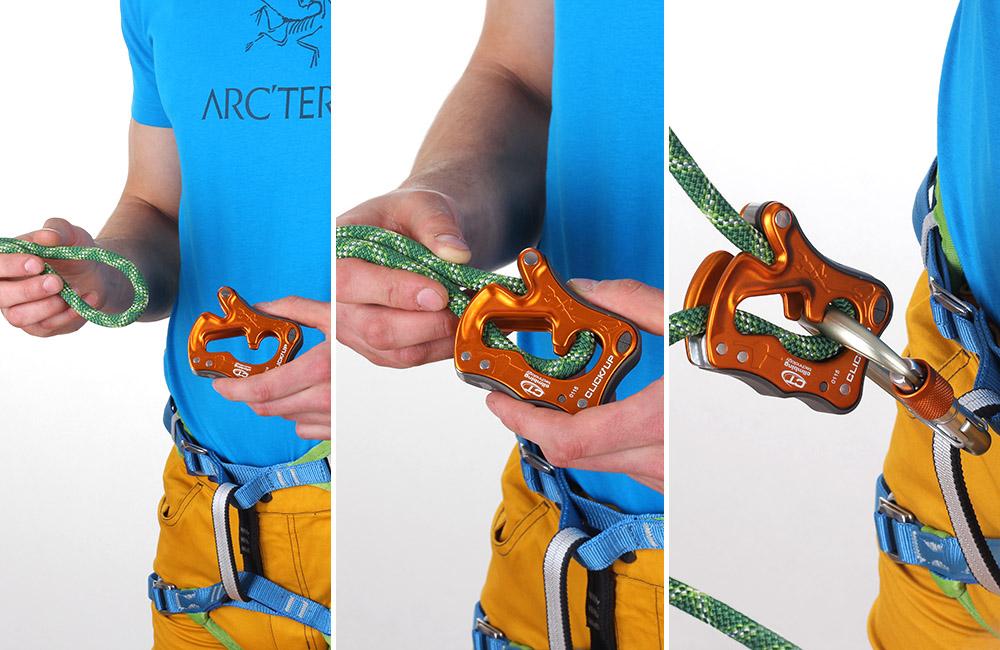 Climbing Technology Click-Up - sposób użycia