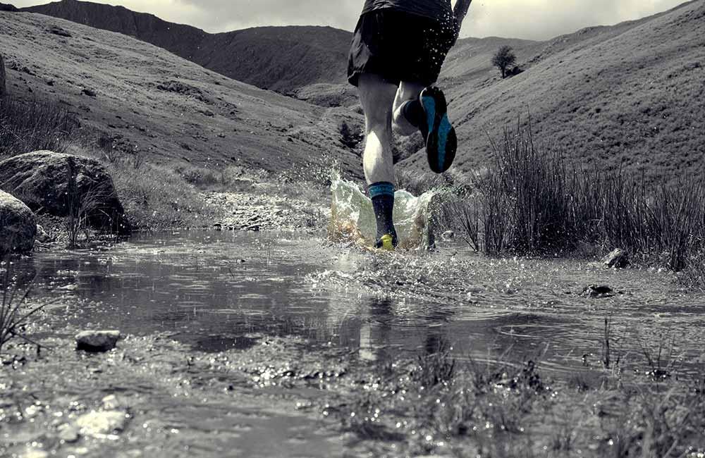 Jakie skarpety do biegania po górach