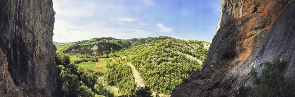Panorama z sektora Pengari (fot. autor)