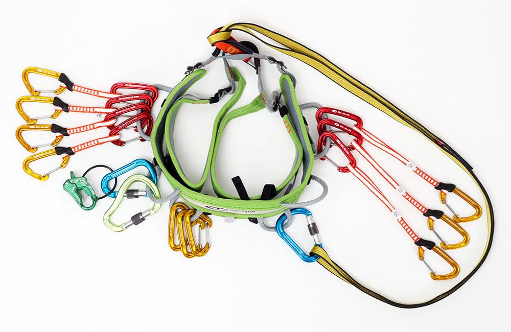Pożądanymi cechami uprzęży na wielowyciągówkę są: łatwy dostęp do szpeju, lekkość i wygoda
