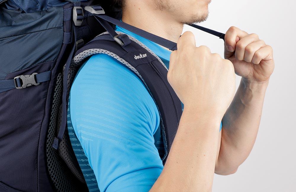 Jak dopasować plecak pasy stabilizujące
