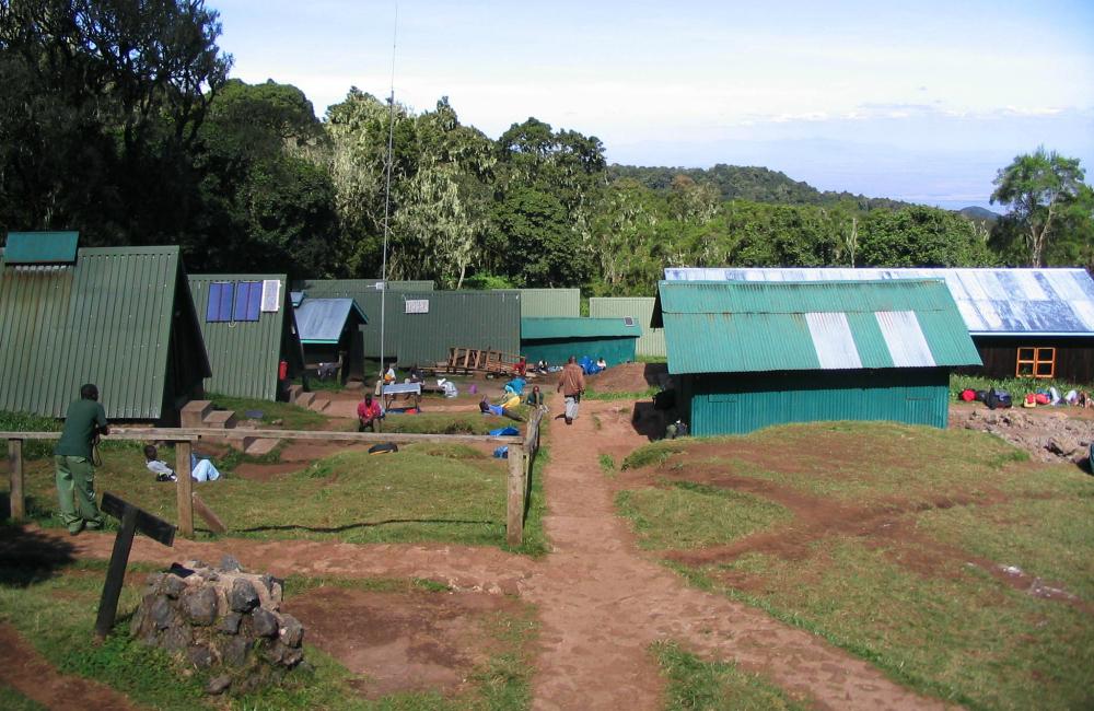Mandara - jeden z obozów na Kilimandżaro