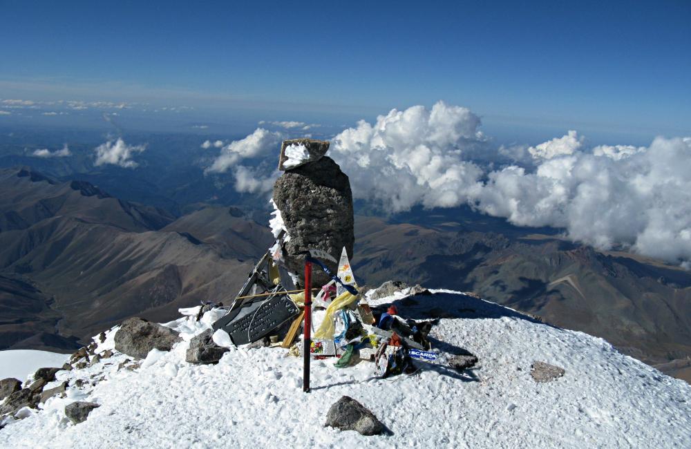 Na szczycie Elbrusu (fot. autorka)