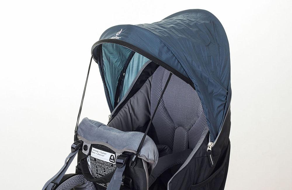ff3dce435be0a Nosidełka turystyczne Deuter - porównanie modeli Kid Comfort