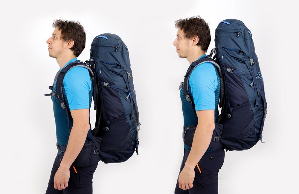 Jak dopasować plecak?