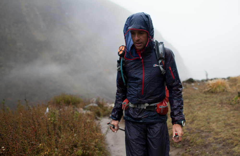 trail running z bukłakiem (fot. Berghaus)