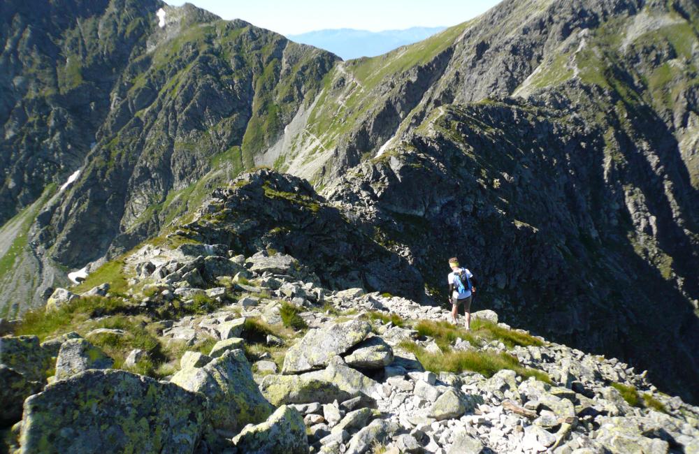 Bieganie po górach - kierunek: Banikov (fot. autor)