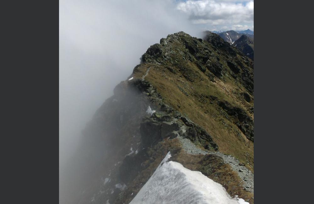 Bieganie po górach - Rochacz Płaczliwy