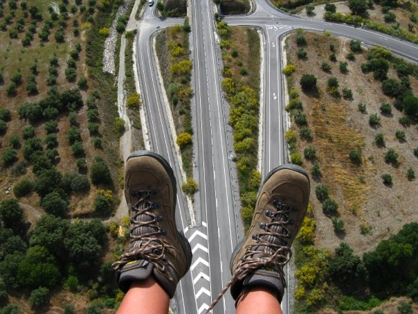 Byłam, latałam - glajty w Sierra Nevada (fot. autorka)