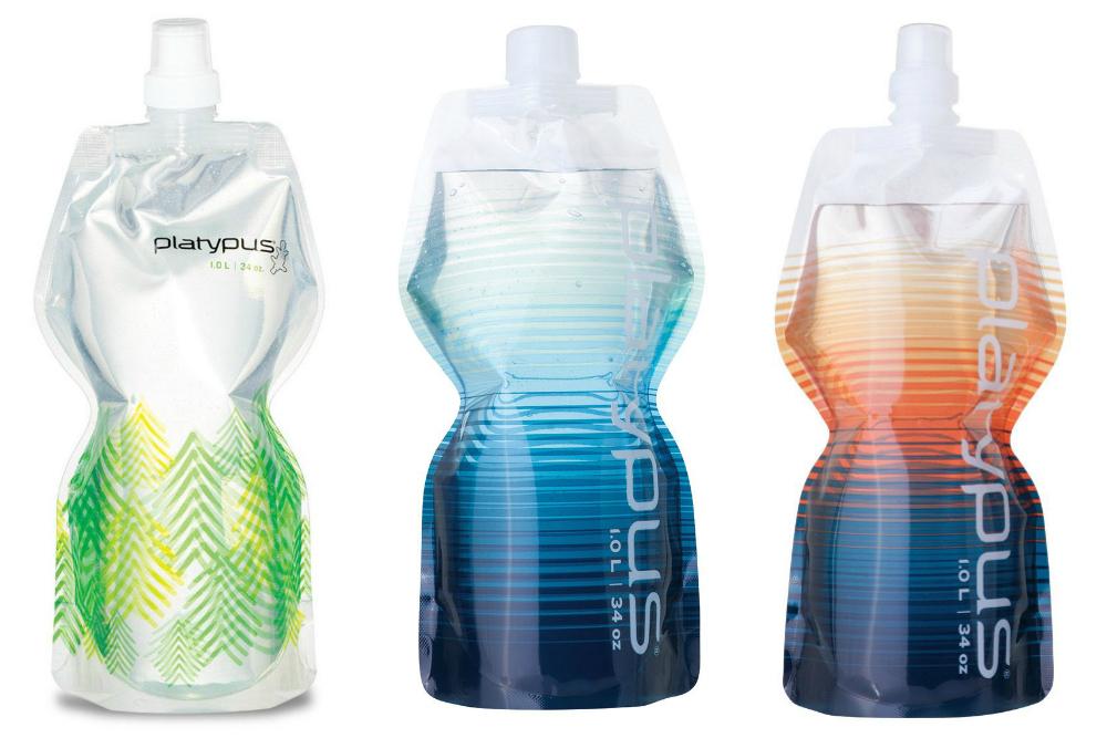Praktyczne butelki na wodę