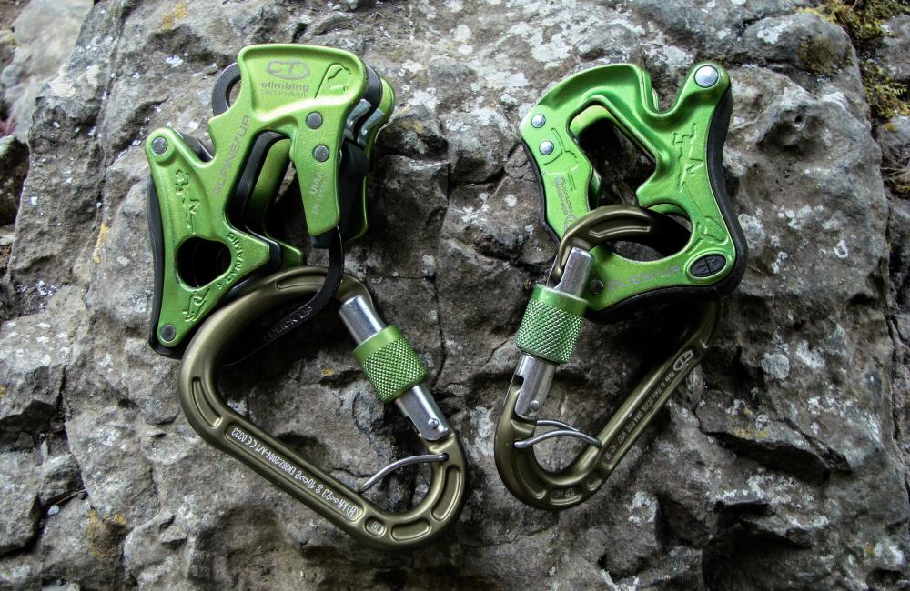 Przyrządy Alpine Up i Click up Climbing Technology (fot. autorka)