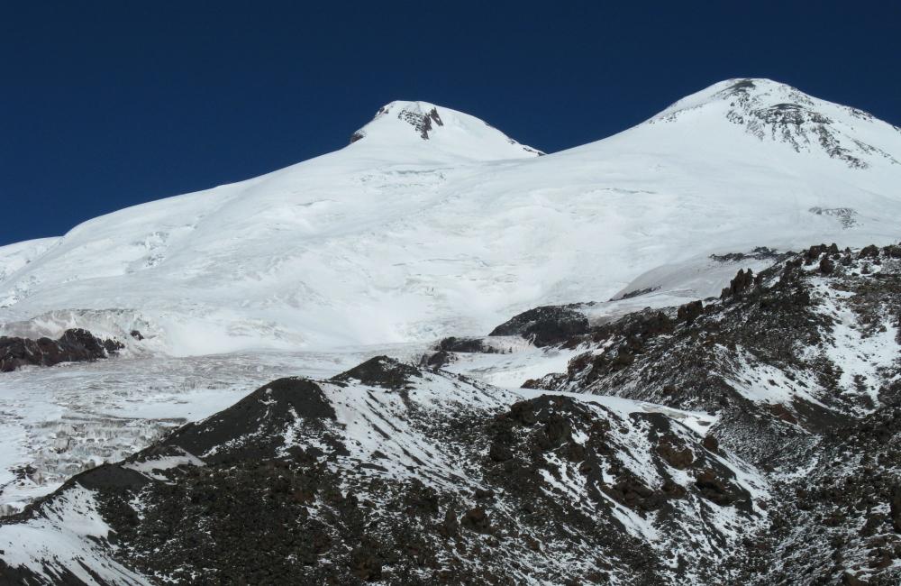 Elbrus- dwugłowa góra (fot. autorka)