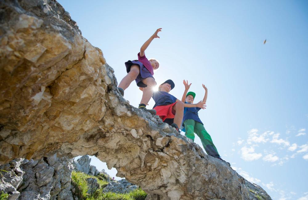 Wyjazd w skały może być dla dzieci nie lada atrakcją