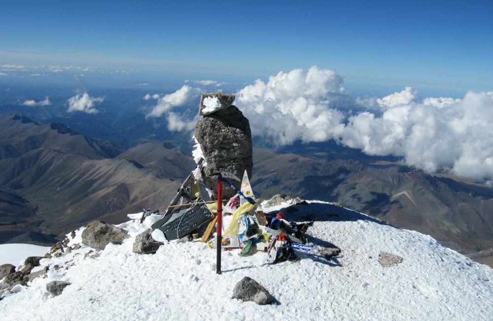 szczyt góry Elbrus