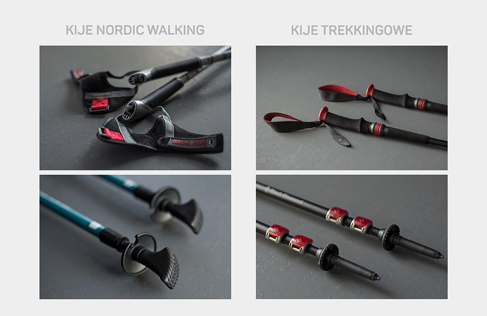 Kije trekkingowe a kije nordic walking