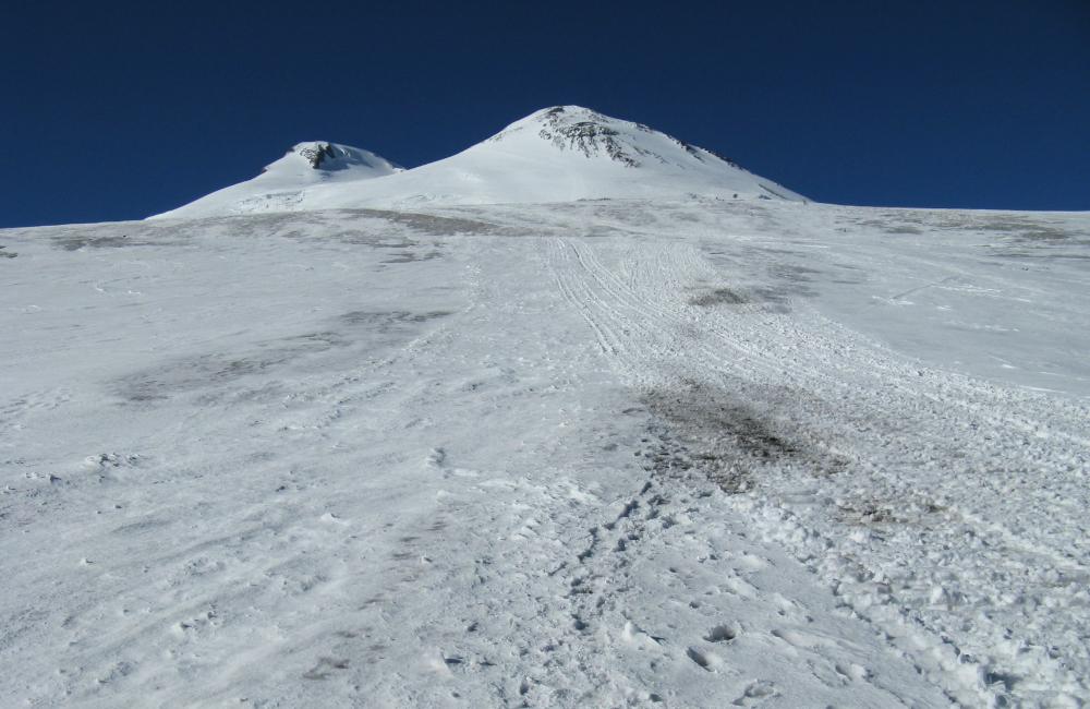 Spacer aklimatyzacyjny Elbrus