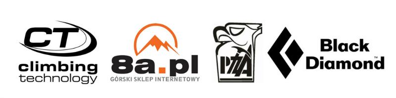 Climbing Technology, 8a.pl, PZA, Black Diamond - logo