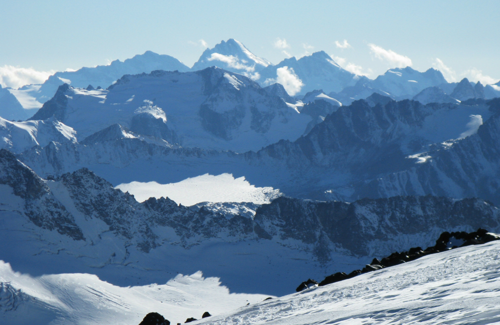 Za plecami Kaukaz z górującą Uszbą (fot. autorka)