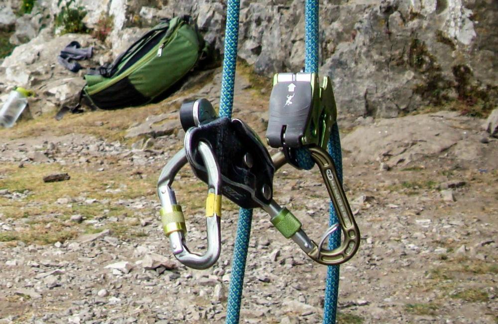 Alipine Up Climbing Technology vs Grigri Petzl (fot. Karolina Ośka)