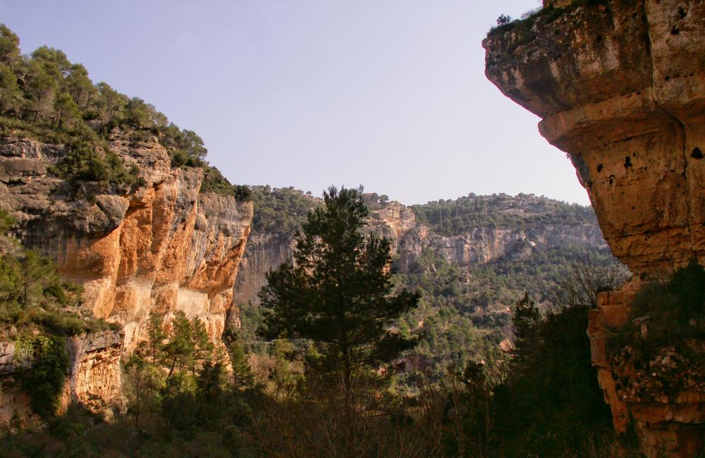 Po lewej przewieszony sektor z legendarną drogą Barcelony i okolicy czyli La Ramblą (fot. autor)
