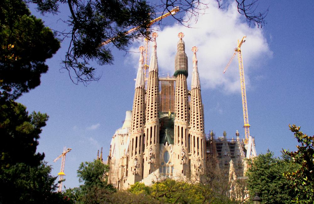 Wiecznie w budowie - Sagrada Familia w Barcelonie (fot. autor)