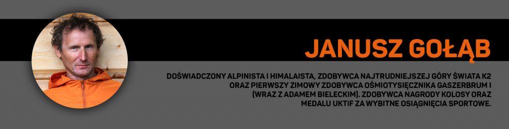 Janusz Gołąb - opinia eksperta odnośnie śpiworów