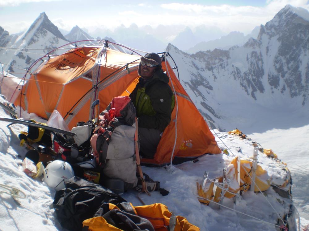Miejsce na obozy pod K2 jest mocno ograniczone (fot. autor)