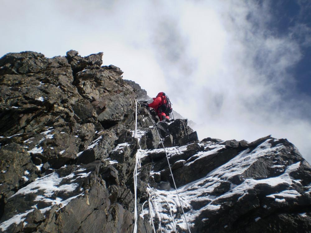 Na K2 nie ma łatwego wspinania (fot. autor)
