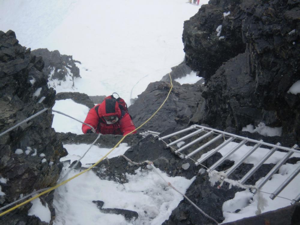 poręczówki na K2