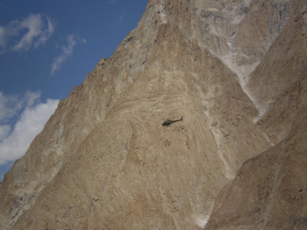 Akcja ratunkowa pod K2 jest znacznie trudniejsza niżpod Mont Everest (fot. autor)