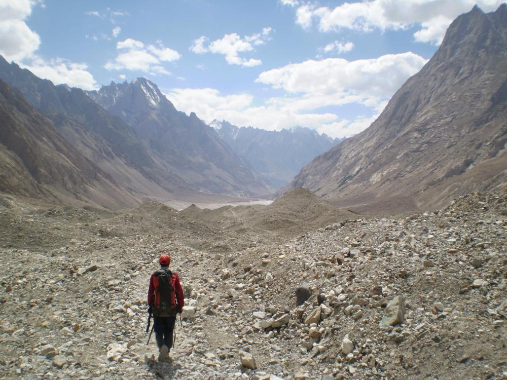 Treking pod K2 to przyjemność sama w sobie (fot. autor)