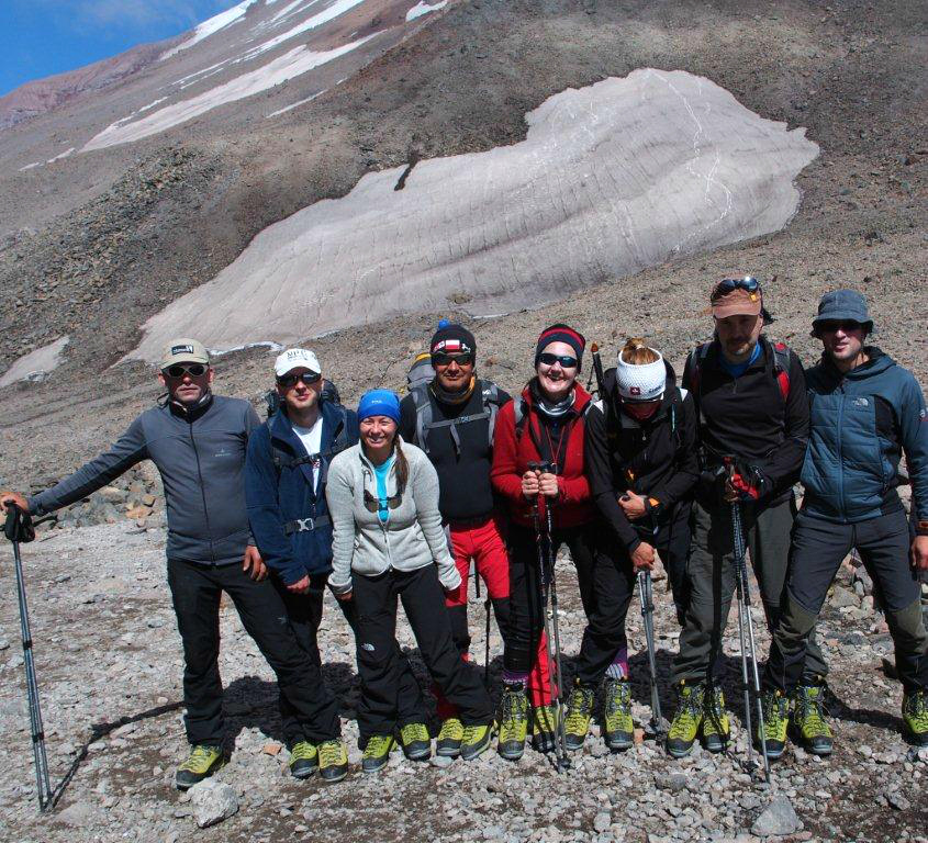 Zamberlan Pro Expert Team na Kazbeku (fot. autor)
