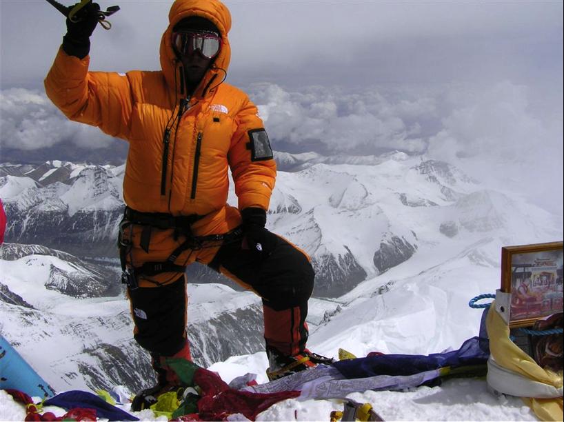 Mount Everest wyprawa - na szczycie Tomasz Kobielski